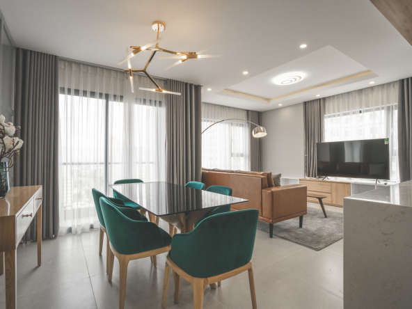 NEW CITY LUXURY 3 BEDROOM FULLY FURNISHED FOR RENT